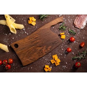 Дъска за рязане и сервиране орех Сатърко 35 см