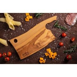 Дъска за рязане и сервиране маслина Сатърко 40 см